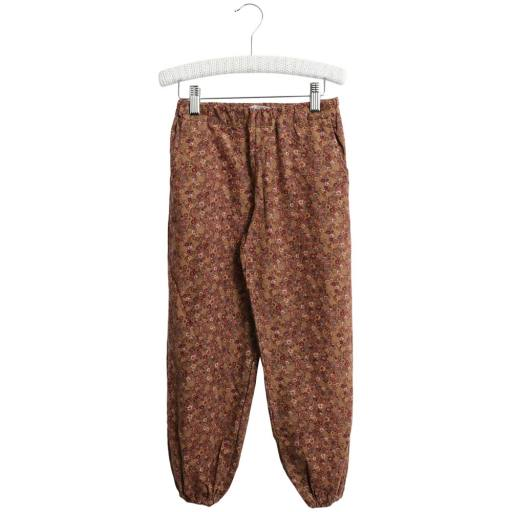 "Wheat - Trousers ""Malou"", caramel flowers"