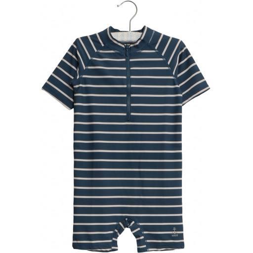 "Wheat - UV-Baby-Swimsuit ""Cas"", indigo"