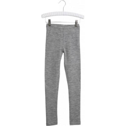 "Wheat - Merino-Leggings ""Wool Leggings"", grey melange"